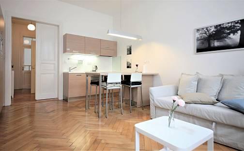 Pronájem bytu 2+kk, 47 m², Eliášova, Praha 6 - Dejvice