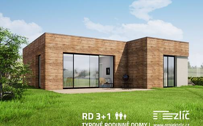 Prodej domu na klíč 77 m² s pozemkem 1000 m², Česká Skalice - Zlíč, okres Náchod