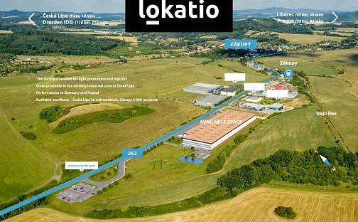 Pronájem skladovacích prostor 10000m², Česká Lípa