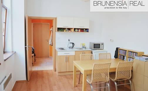 Pronájem bytu 1+kk 35m², Orlí, Brno