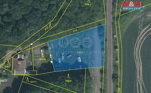 Prodej pozemku, 1693 m², Mnichovo Hradiště - Veselá, okres Mladá Boleslav
