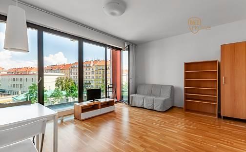 Pronájem bytu 1+kk 34m², Korunní, Praha 10 - Vinohrady