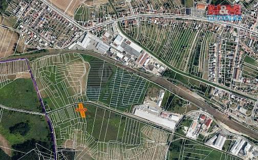 Prodej pole, 1106 m², Bzenec, okres Hodonín