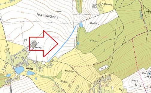 Prodej stavebního pozemku 3406m², Svatý Jan nad Malší, okres České Budějovice