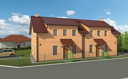 Prodej domu 119 m² s pozemkem 342 m², Unhošťská, Jeneč, okres Praha-západ