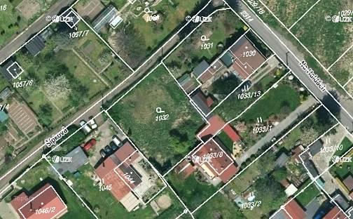 Prodej stavebního pozemku, 738 m², Šípková, Teplice