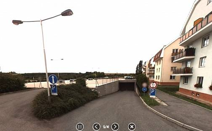 Pronájem garážového stání v podzemních garáží 150m od MHD, K Horoměřicům, Praha 6 - Suchdol