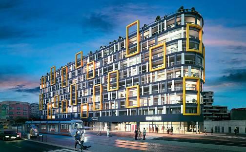 Praha 9 - Libeň, projekt Harfa Design Residence, Praha