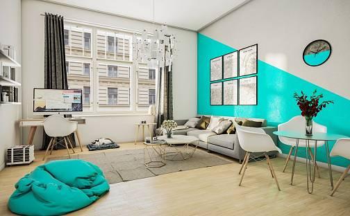 Prodej bytu 1+kk 35m², Ječná, Praha 2 - Nové Město