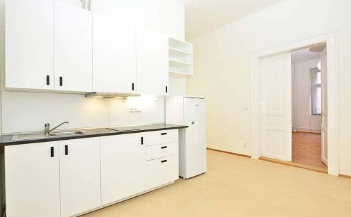 Pronájem bytu 2+kk, 45 m², Rejskova, Praha 2 - Vinohrady