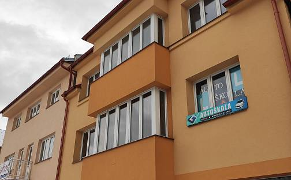 Pronájem kanceláře 90m², Smetanova, Vsetín