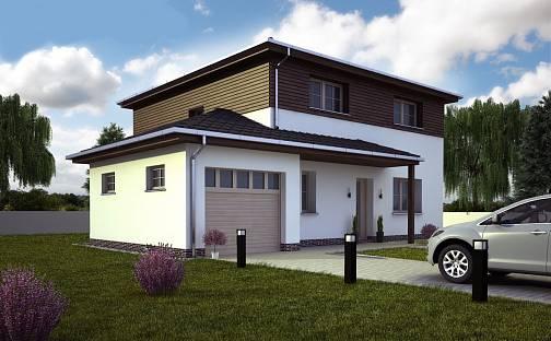 Prodej domu 145 m² s pozemkem 1056 m², Pod Stráží, Psáry, okres Praha-západ