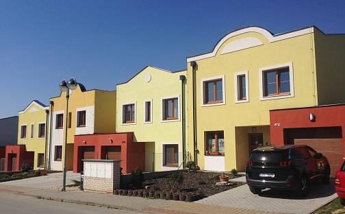 Výstavba řadových rodinných domů ve Štěnovicích, Třešňová, Štěnovice, okres Plzeň-Jih
