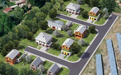 Prodej stavebního pozemku, 868 m², Lahošť, okres Teplice