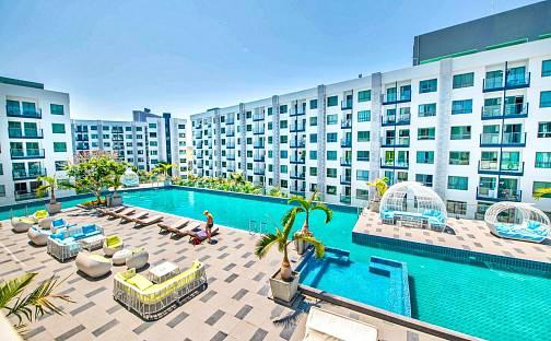 Prodej bytu 1+1 27m², Pattaya, Thajsko