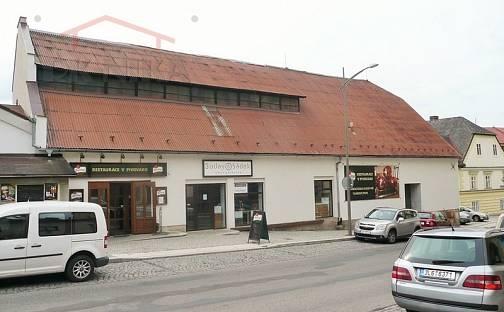 Prodej restaurace, 1800 m², Husova, Semily