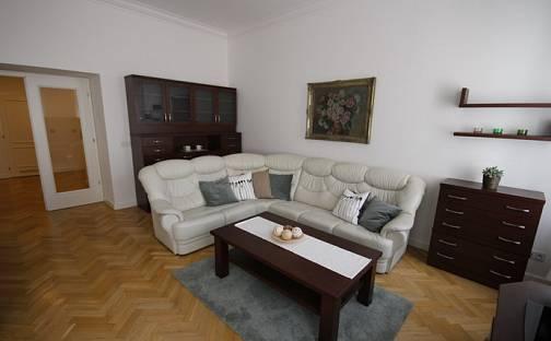 Pronájem bytu 4+kk 130m², Na Kozačce, Praha 2 - Vinohrady