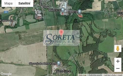 Prodej pole, 4348 m², Třebčice, okres Plzeň-Jih