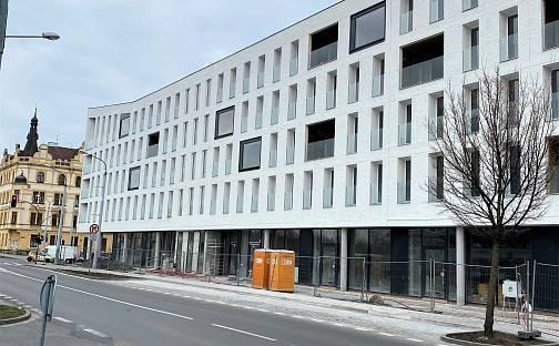 Pronájem bytu 1+kk, 23 m², Otýlie Beníškové, Plzeň - Severní Předměstí