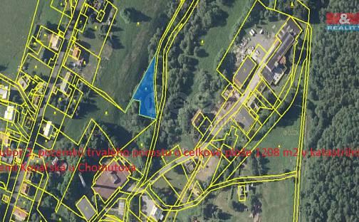 Prodej louky, 1208 m², Kovářská, okres Chomutov