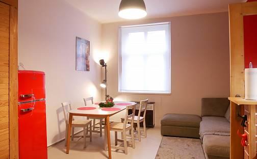 Pronájem bytu 2+kk, 38 m², Táborská, Praha 4 - Nusle