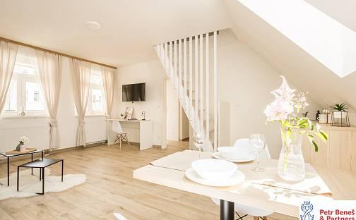 Pronájem bytu 1+1, 38 m², Nádražní, Rakovník - Rakovník II