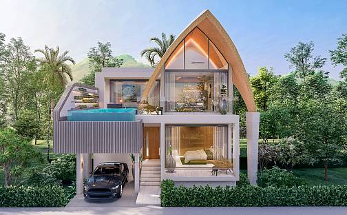Prodej vily 222m² s pozemkem 300m², Koh Samui, Thajsko