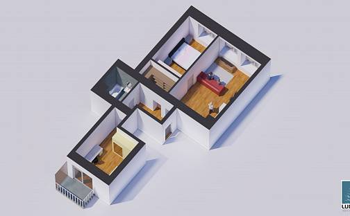 Prodej bytu 3+kk, 78 m², Zátopkova, Milovice - Mladá, okres Nymburk