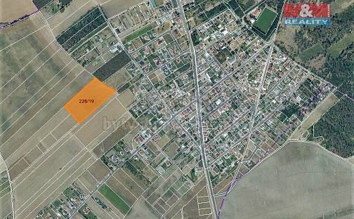 Prodej louky, 14460 m², Vědomice, okres Litoměřice