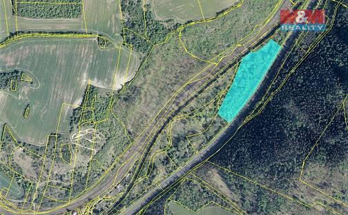 Prodej pozemku 18527m², Želenice, okres Most