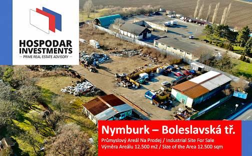 Prodej komerčního pozemku 12500m², Boleslavská třída, Nymburk