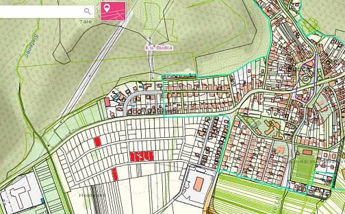 Prodej stavebního pozemku 919m², Slov. národ. povstania, Zvolen, Banskobystrický kraj, Budča, Slovensko