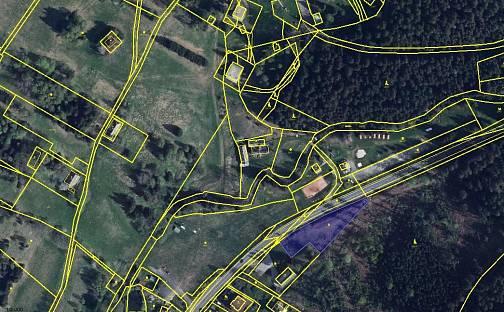 Prodej stavebního pozemku, 2221 m², Železná Ruda, okres Klatovy