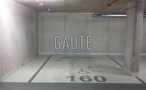 Pronájem garážové stání, 20m2 - Brno - Veveří, Lidická, Brno - Veveří