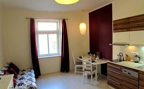 Pronájem bytu 1+kk, 22 m², Šlikova, Praha 6 - Břevnov