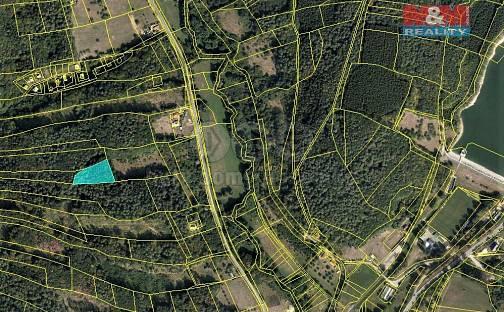 Prodej lesa 2841m², Ludkovice, okres Zlín