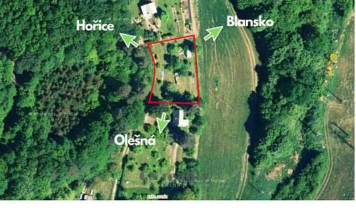 Prodej zahrady, 815 m², Blansko