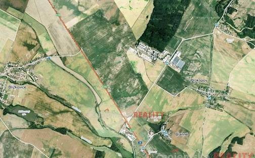 Prodej pole, 35000 m², Blanné, okres Znojmo