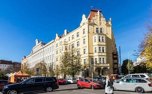 Pronájem bytu 3+kk, 116 m², náměstí Jiřího z Poděbrad, Praha 3 - Vinohrady
