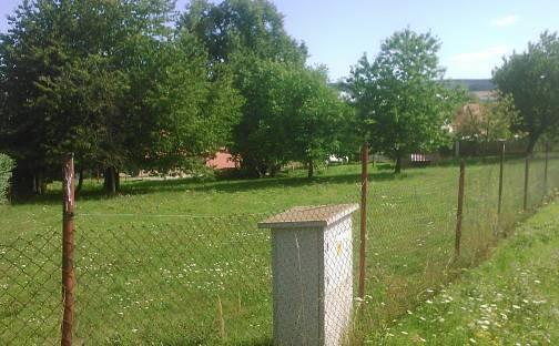 Prodej stavební parcely, 967 m², Hluboké, okres Třebíč
