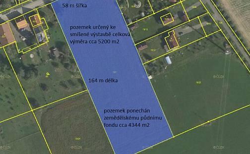 Prodej stavebního pozemku 9544m², Příbor, okres Nový Jičín