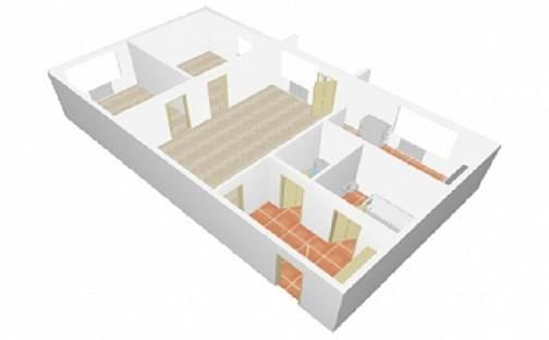 Prodej bytu 3+1, 58 m², Tř. Maršála Malinovského, Uherské Hradiště