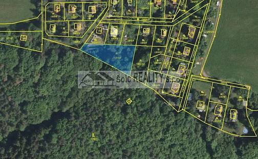 Prodej stavebního pozemku, 1202 m², Křečovice, okres Benešov