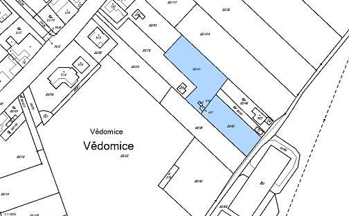 Prodej stavebního pozemku, 2303 m², Luční, Vědomice