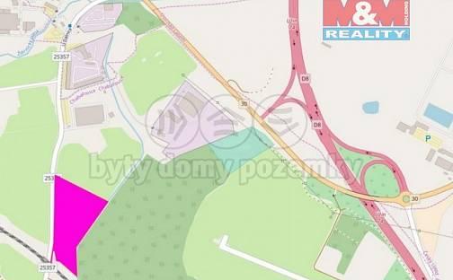 Prodej komerčního pozemku, 26584 m², Chabařovice, okres Ústí nad Labem