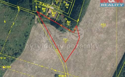 Prodej stavební parcely, 3140 m², Cheb
