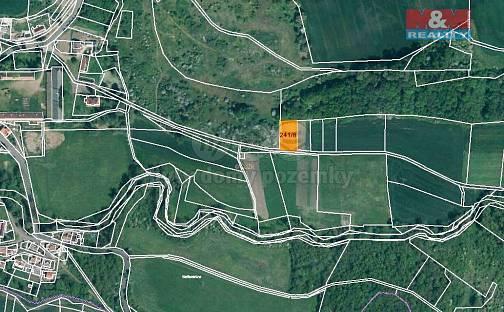 Prodej pole, 1079 m², Postoloprty, okres Louny