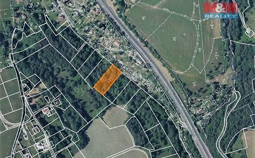 Prodej louky 3161m², Jeřmanice, okres Liberec