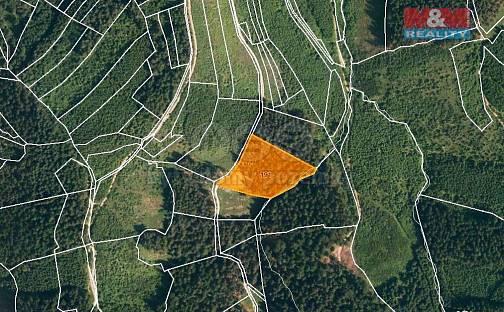 Prodej lesa, 7226 m², Lhota u Vsetína, okres Vsetín