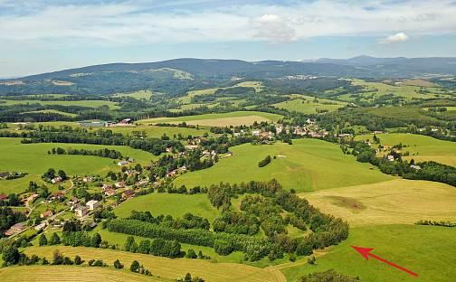 Prodej stavebního pozemku, 10000 m², Bernartice, okres Trutnov